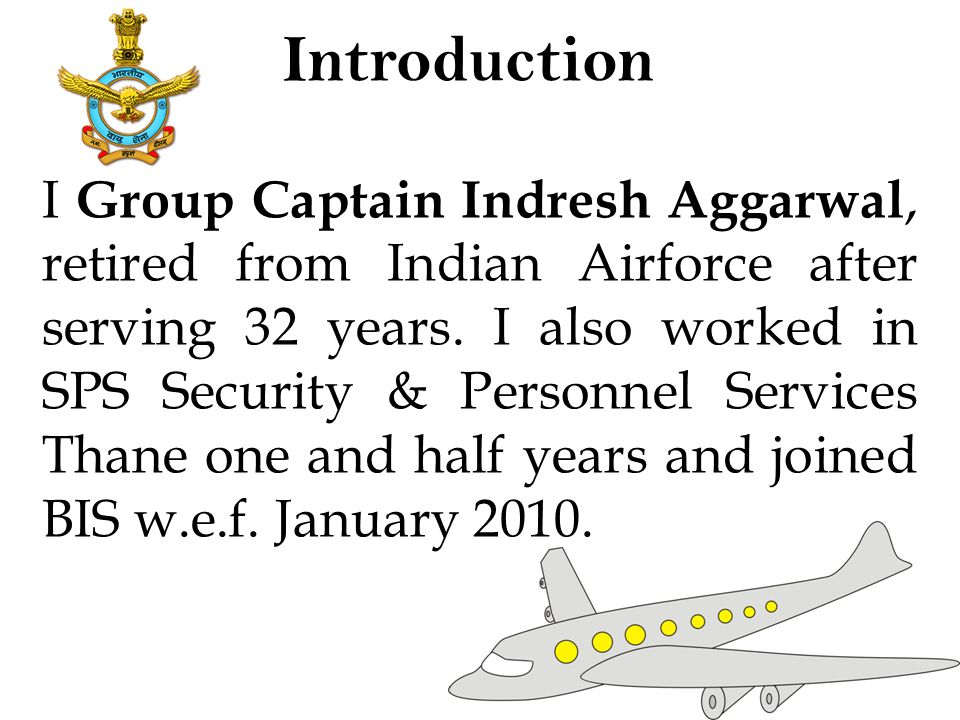 Gp Capt Indresh Aggarwal General Manager- Operations