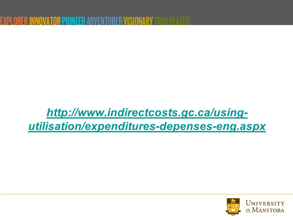 http://www.indirectcosts.gc.ca/using- utilisation/expenditures-depenses-eng.aspx