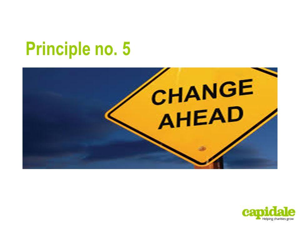 Principle no. 5