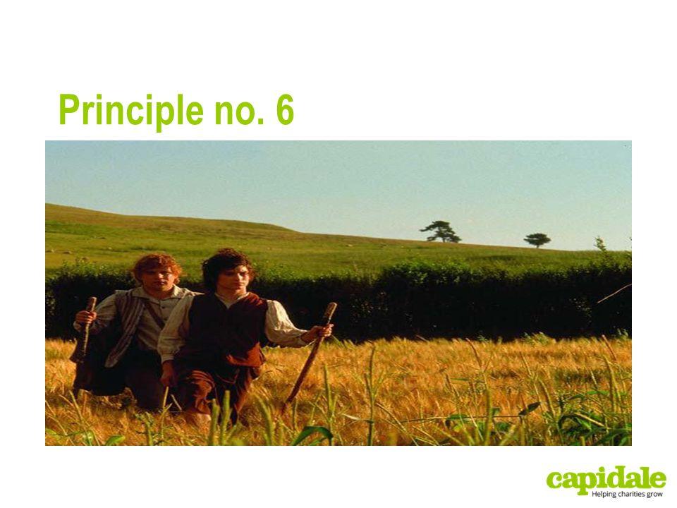 Principle no. 6