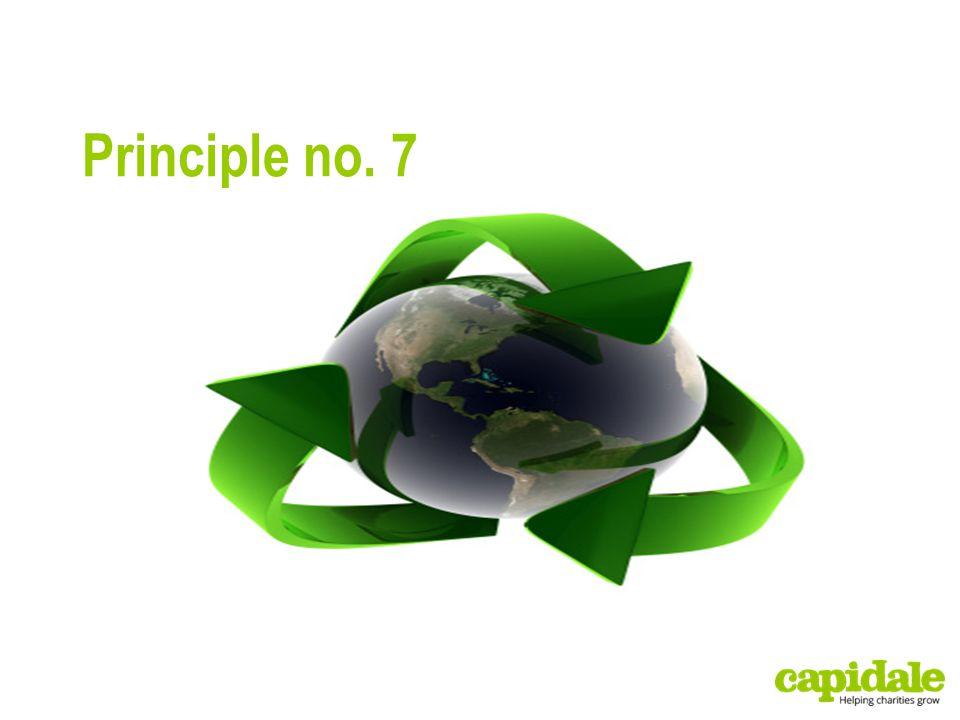 Principle no. 7