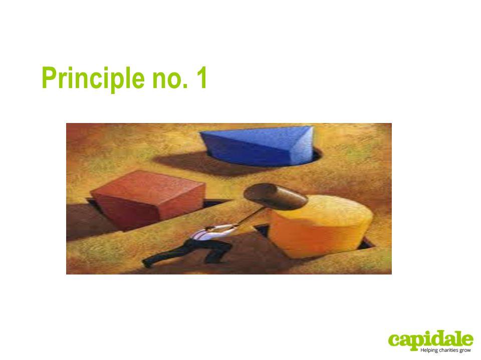 Principle no. 1