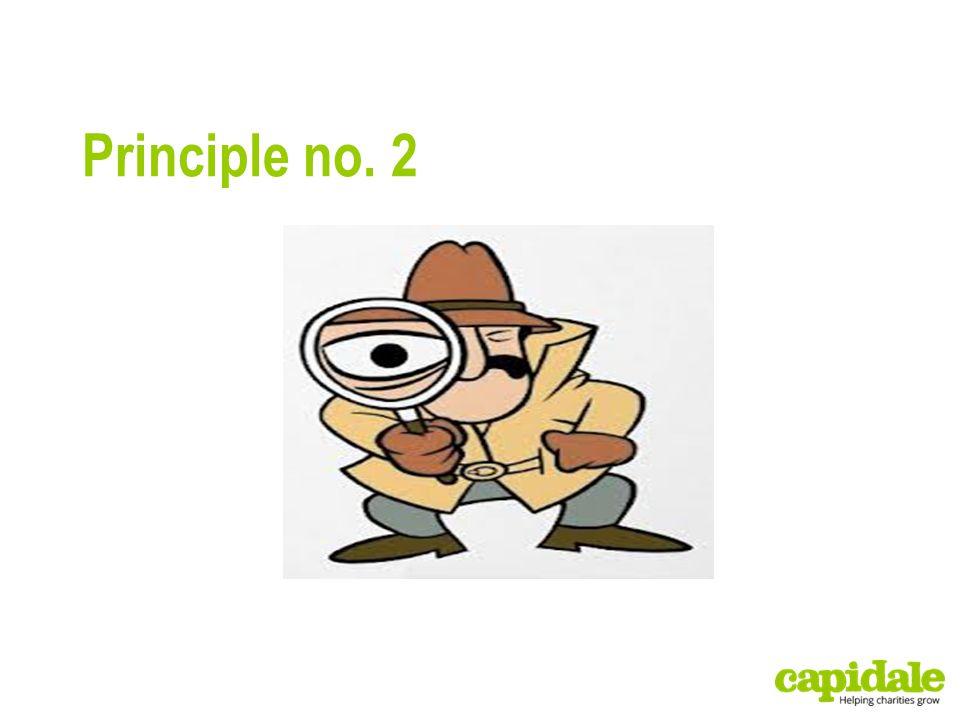 Principle no. 2