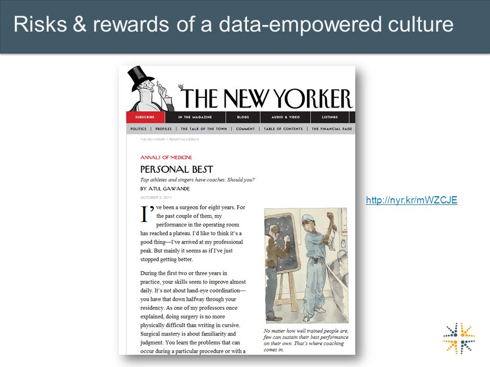 Risks & rewards of a data-empowered culture http://nyr.kr/mWZCJE