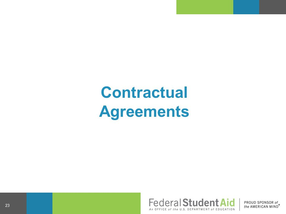 Contractual Agreements 23