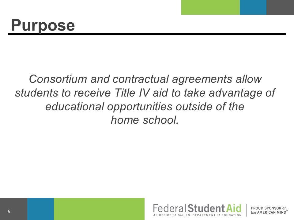 Consortium Agreements 17