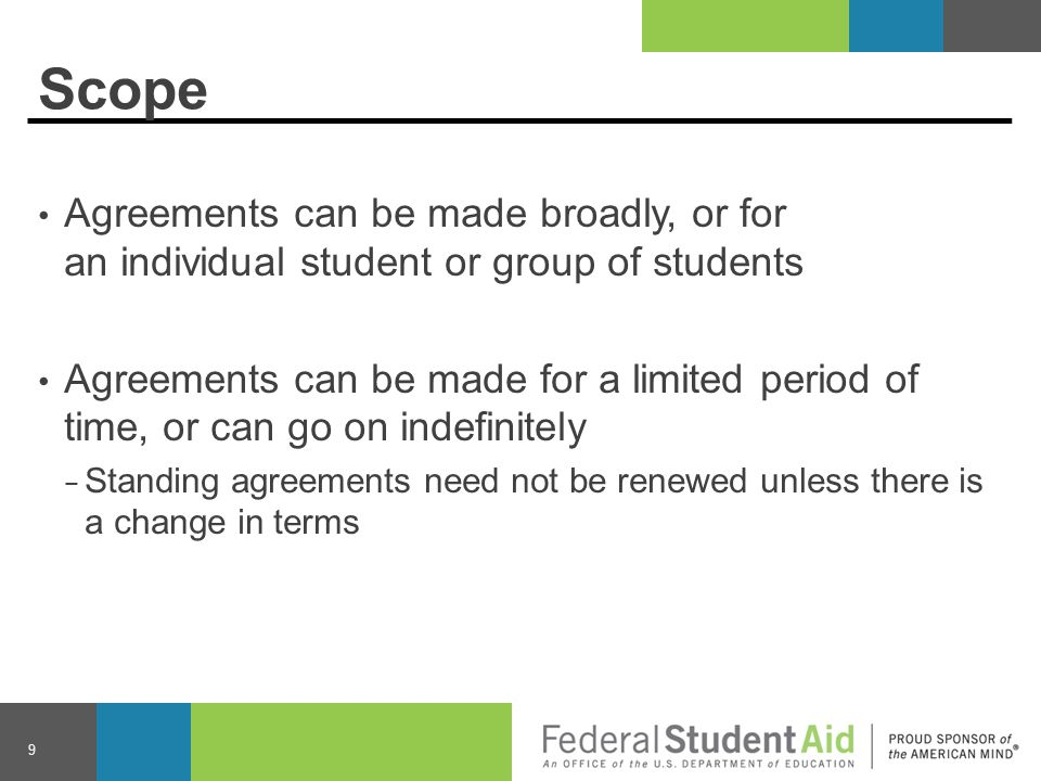 Eligibility and Disbursement Any participating school may calculate awards or make disbursements of Title IV aid without being considered a third-party servicer − School disbursing aid may be different from the school the student is attending Book funds for Pell Grant recipients must be made available by the 7 th day of the payment period of the school disbursing aid 20