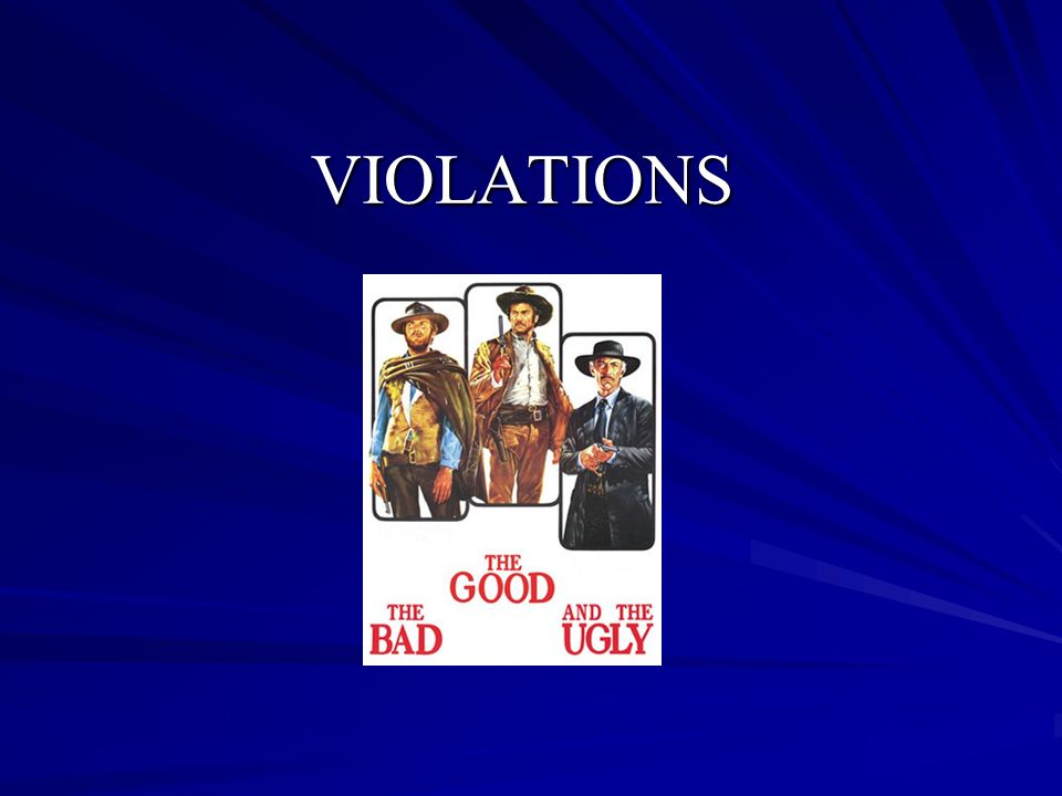 Types of Violations Secondary – is isolated or inadvertent in nature, provides or is intended to provide only a minimal recruiting, competitive or other advantage and does not include any significant recruiting inducement or extra benefit.