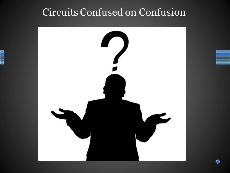Circuits Confused on Confusion