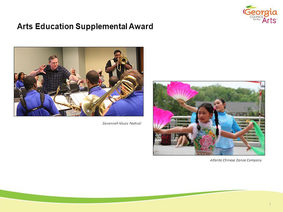 1 Arts Education Supplemental Award Savannah Music Festival Atlanta Chinese Dance Company