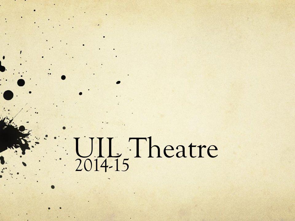 UIL Theatre 2014-15