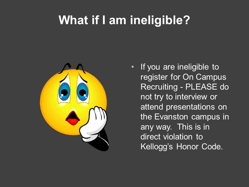 What if I am ineligible.