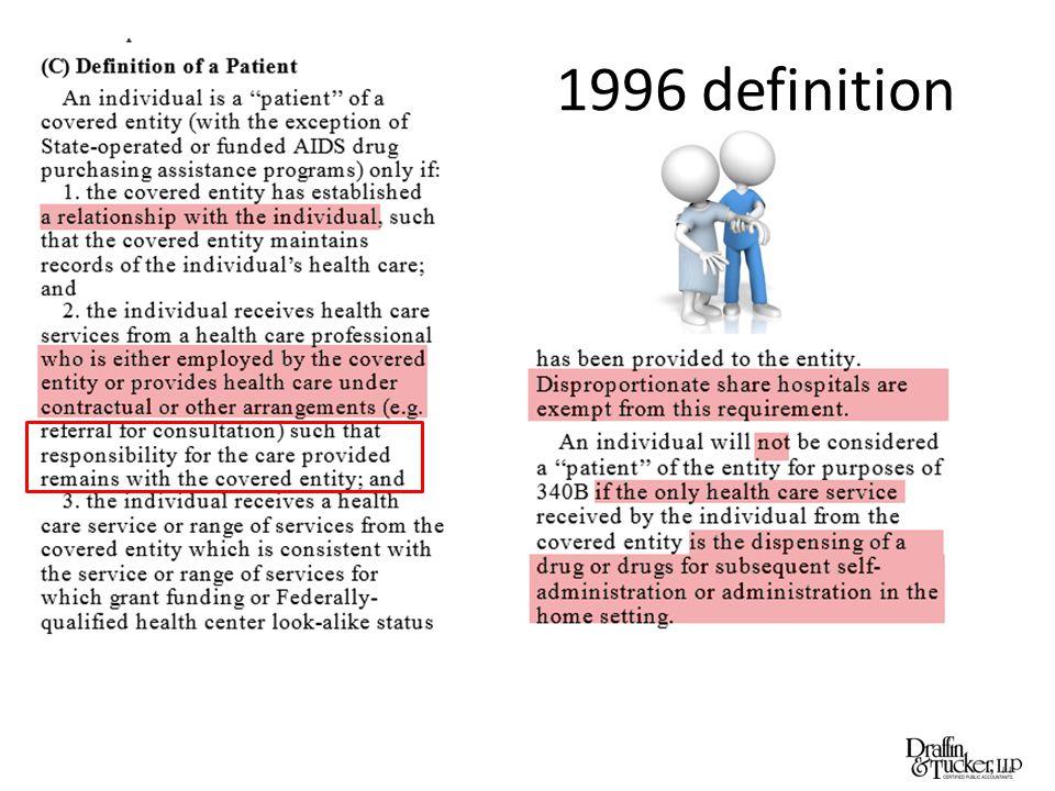 1996 definition