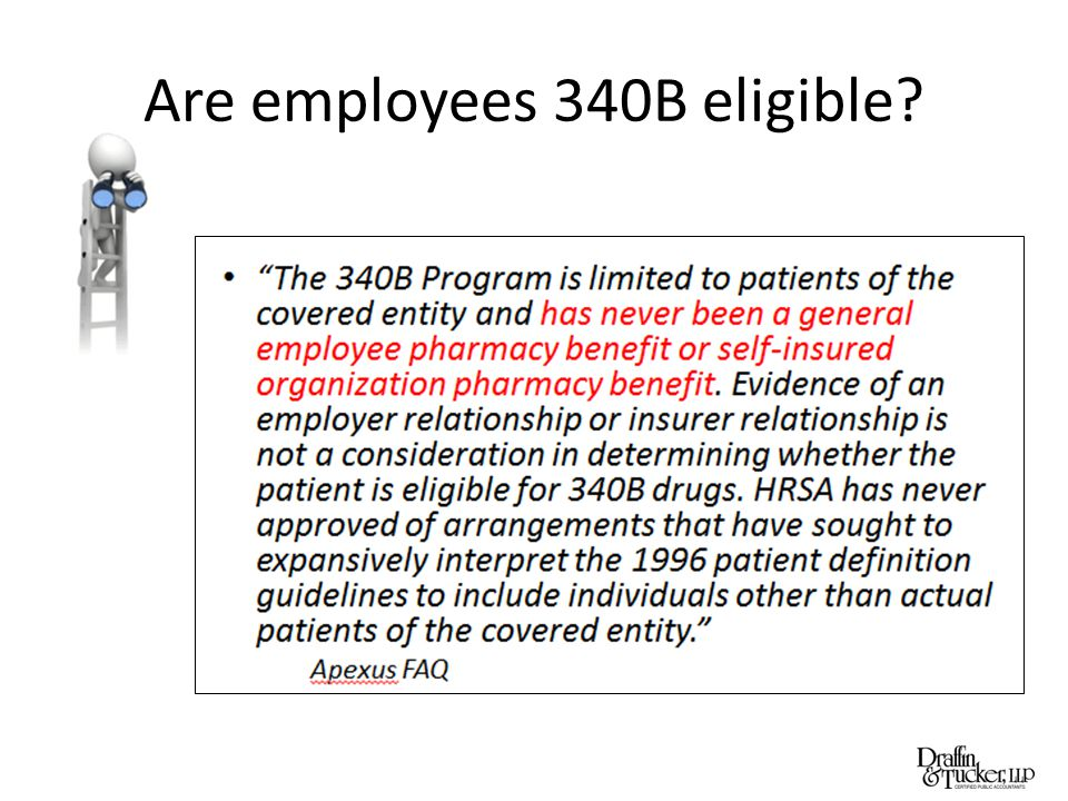 Are employees 340B eligible?