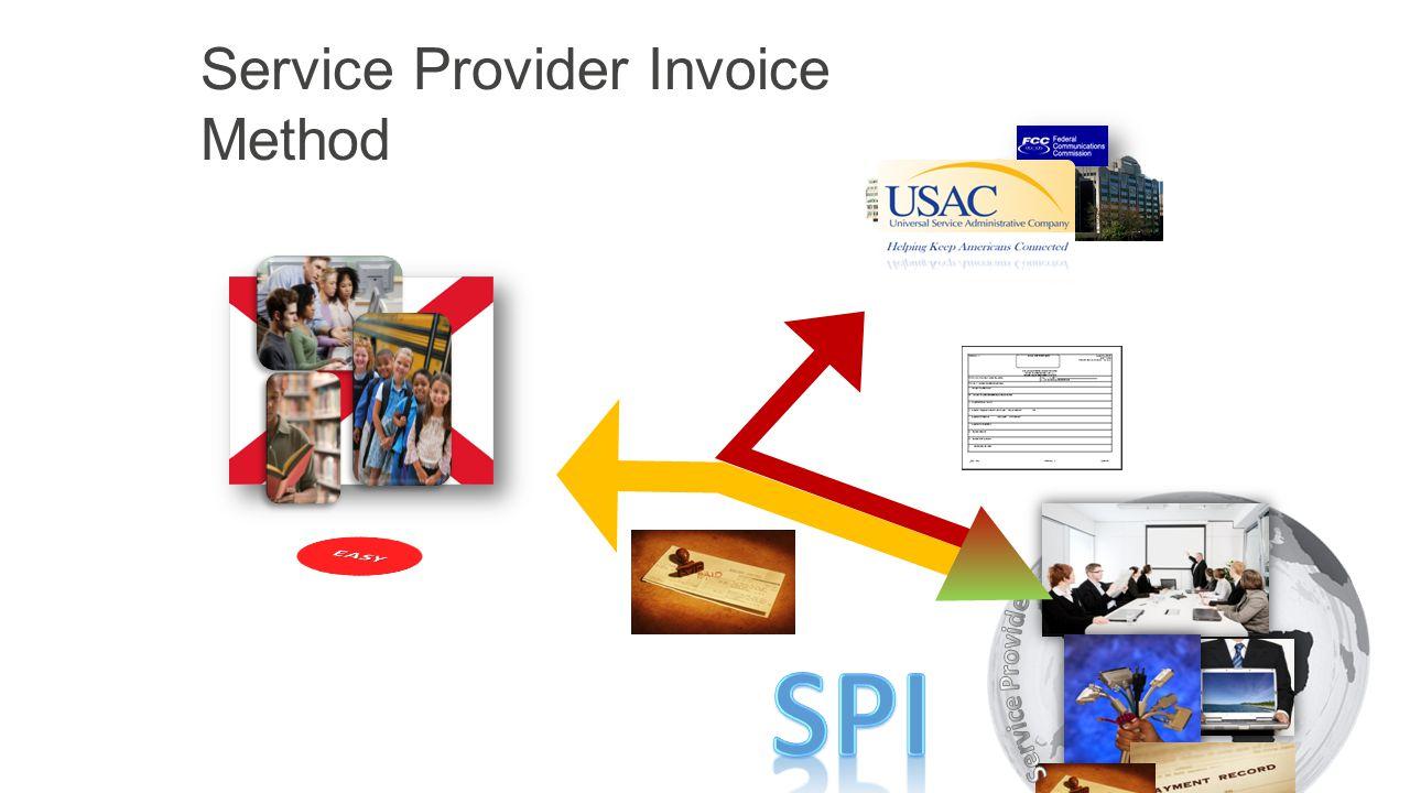 Service Provider Invoice Method 4