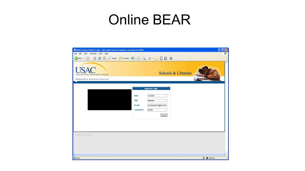 Online BEAR