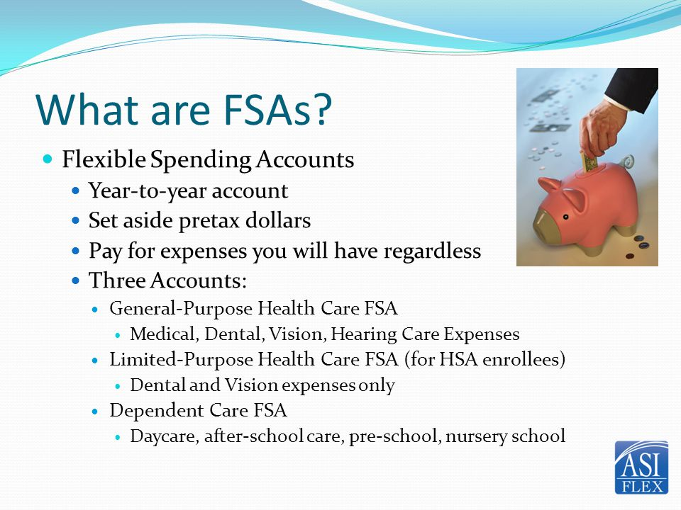 How does it work.1. Estimate expenses 2. Make pretax contributions 3.