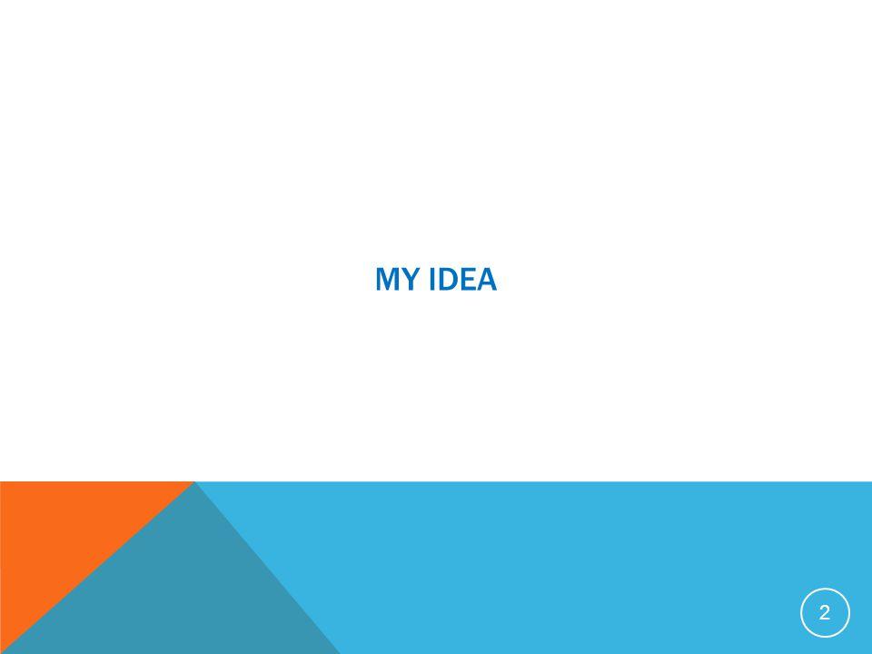 MY IDEA 2