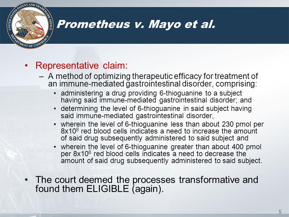 5 Prometheus v. Mayo et al.