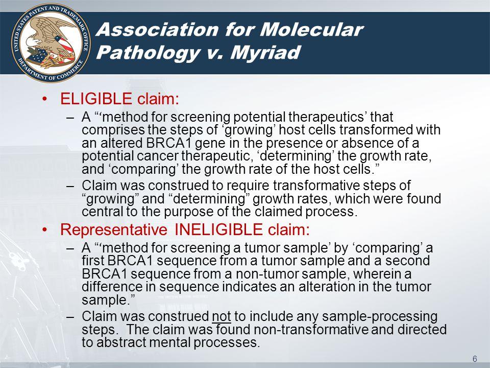 6 Association for Molecular Pathology v.