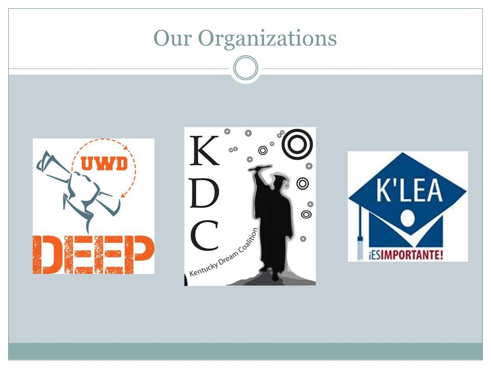 Our Organizations