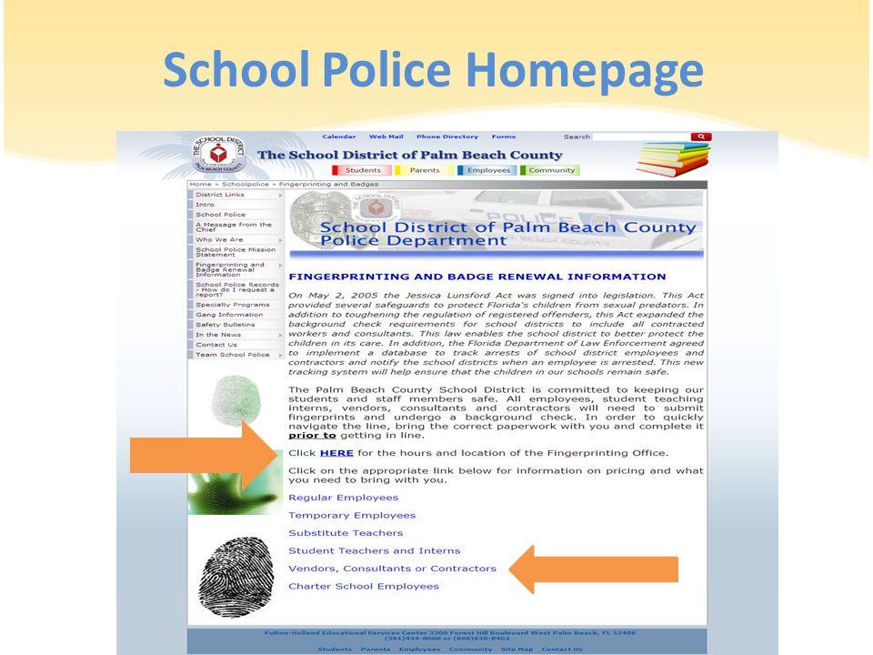 School Police Homepage