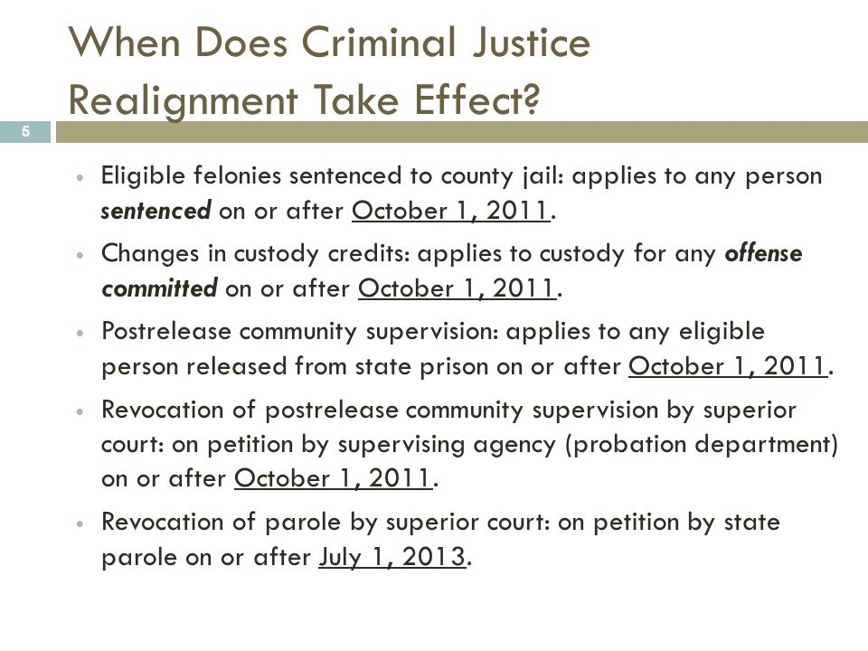 MYTH 16 When N 3 get released from county jail, they go on local parole or probation.