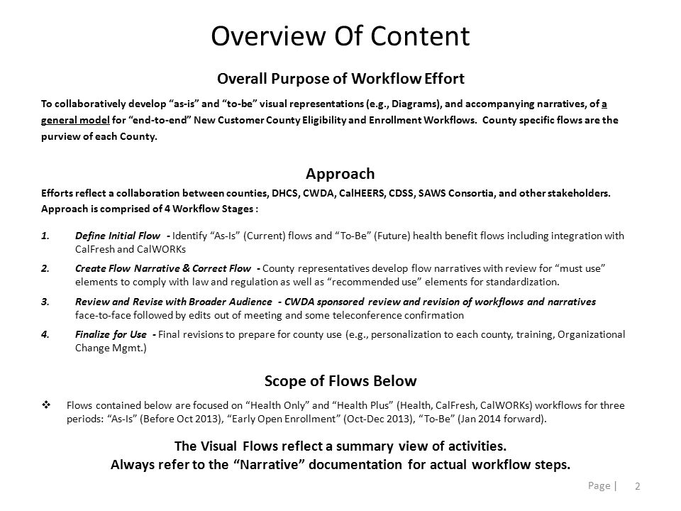 3 Page | As-Is Health Only Before Oct 2013