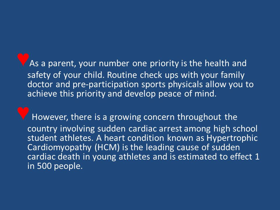 ♥ As a parent, your number one priority is the health and safety of your child.