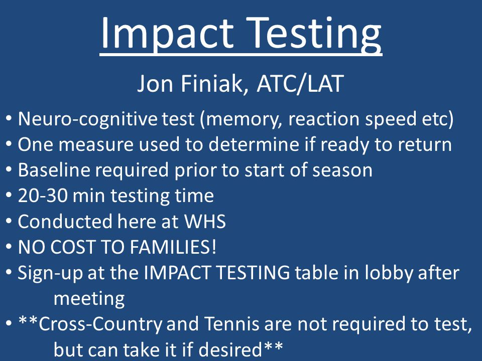 Trainer Contact Information: Jon Finiak, ATC/LAT Licensed Athletic Trainer Whitnall High School Phone: 414 – 530 – 8113 Email: jtfiniak@gmail.com