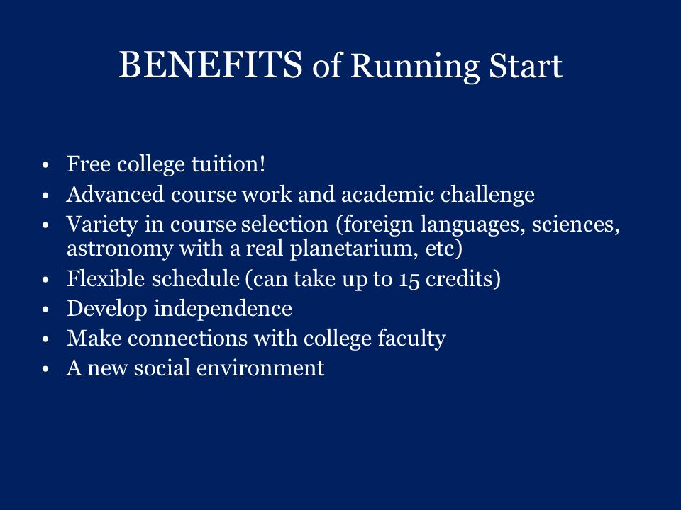 Questions.Contact your Interlake HS Counselor- turn in your running start contract.