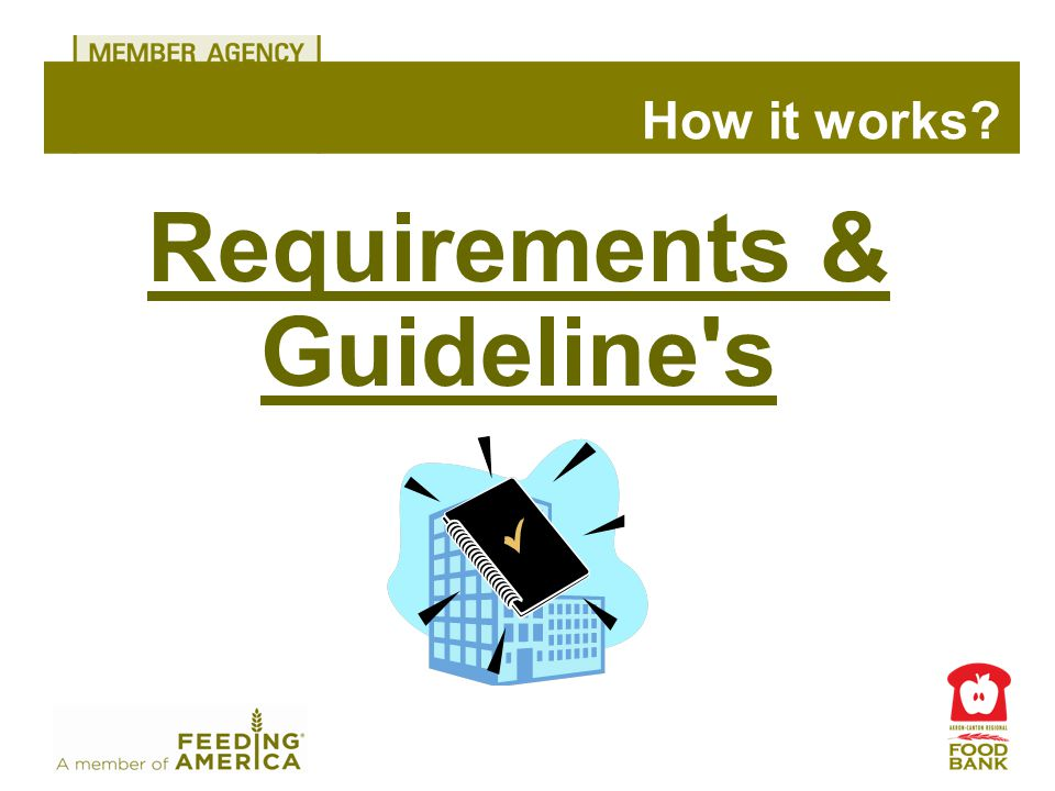 Requirements & Guideline s How it works