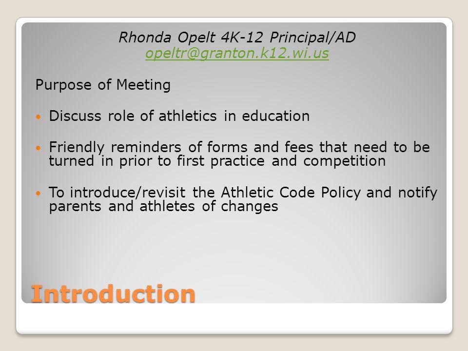 Why Participate in Athletics.