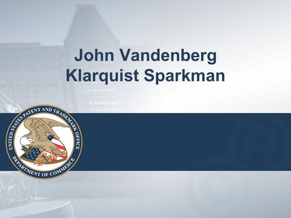 John Vandenberg Klarquist Sparkman
