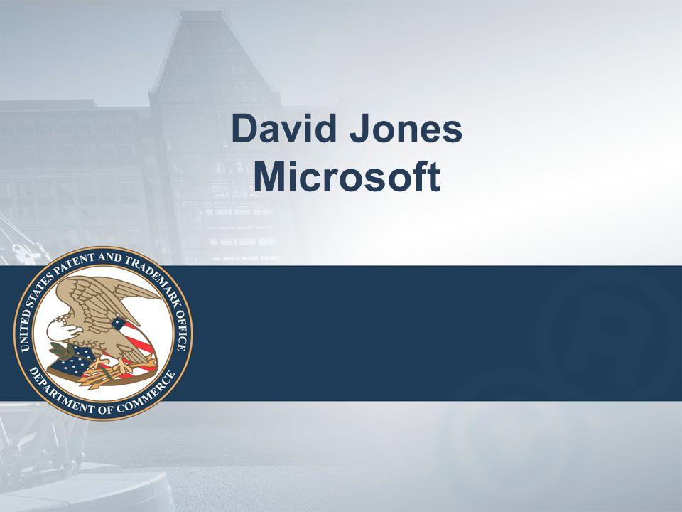 David Jones Microsoft