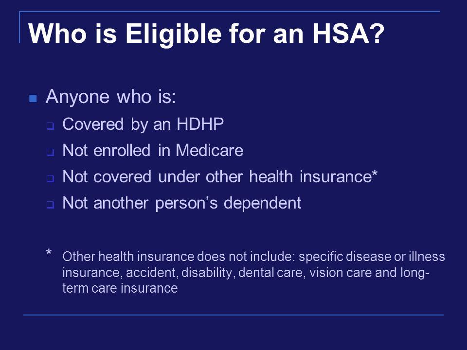 HSA CONTRIBUTIONS