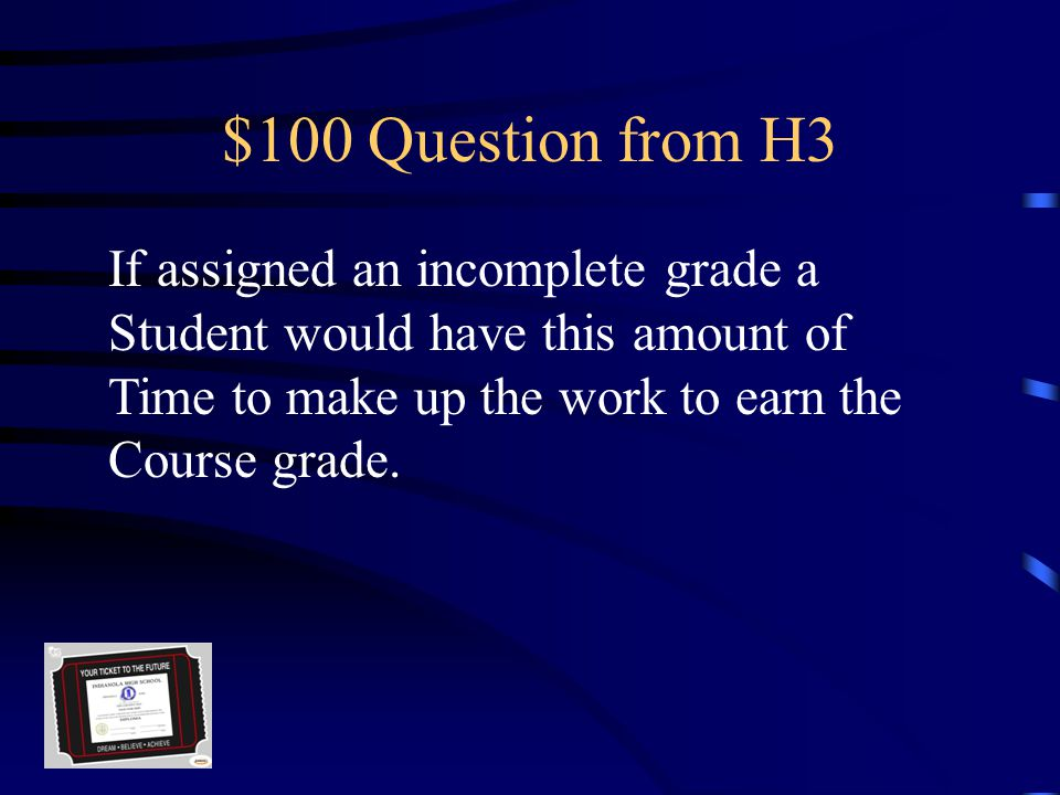 $500 Answer from H2 16