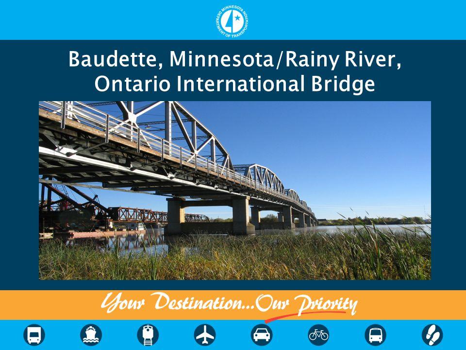 Baudette, Minnesota/Rainy River, Ontario International Bridge