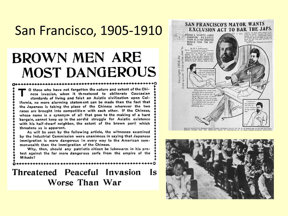 San Francisco, 1905-1910