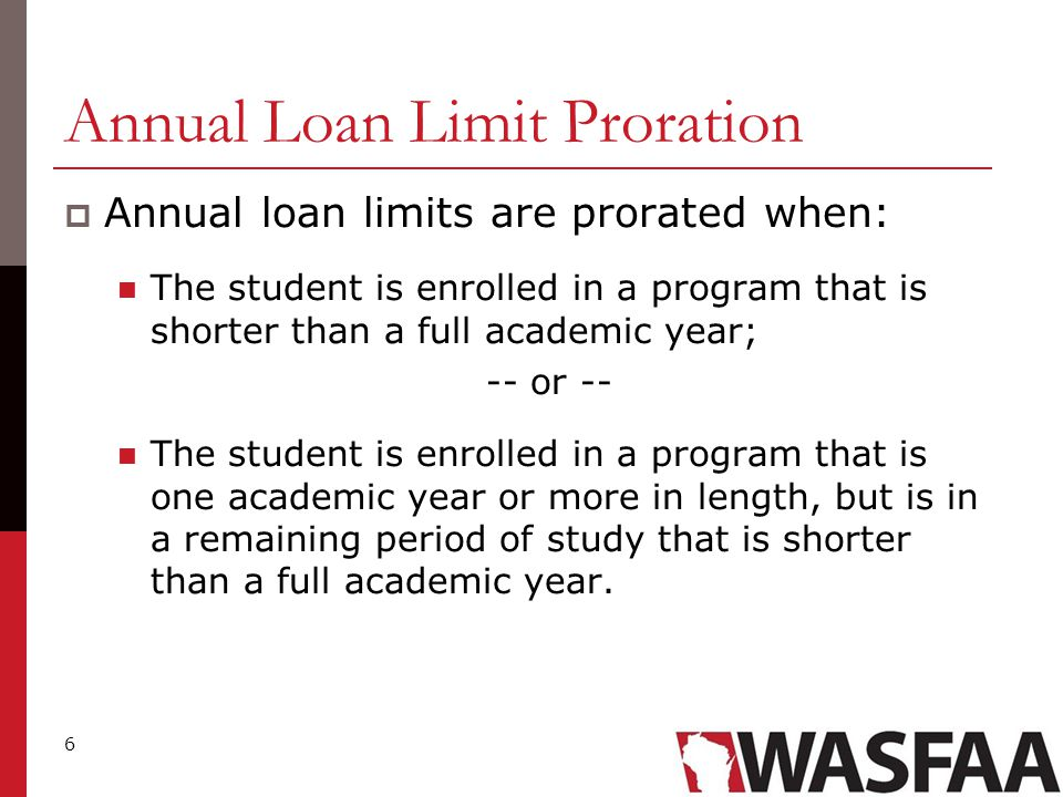37 Annual Loan Limits 1.This category excludes those dependent students whose parents cannot secure a PLUS loan.