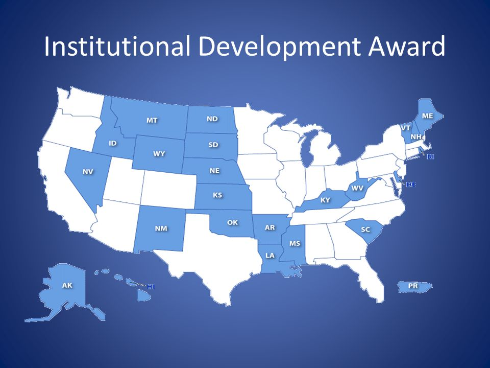 Institutional Development Award