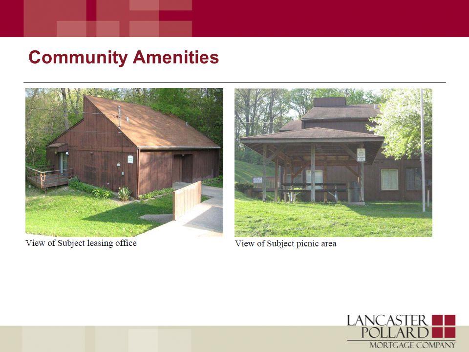 Community Amenities