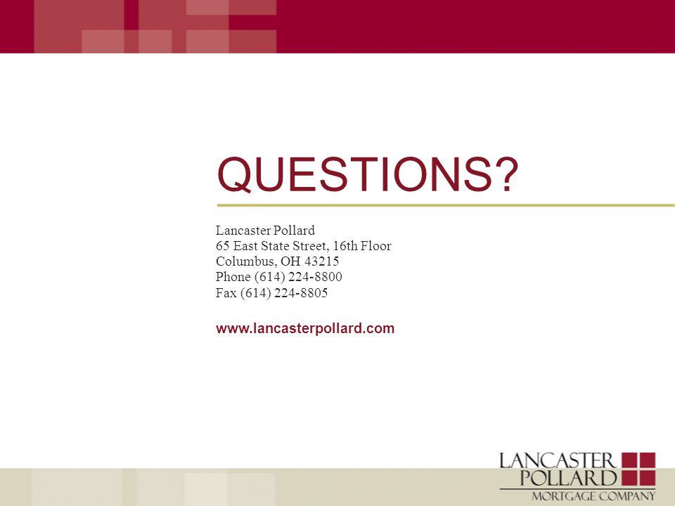 www.lancasterpollard.com QUESTIONS.