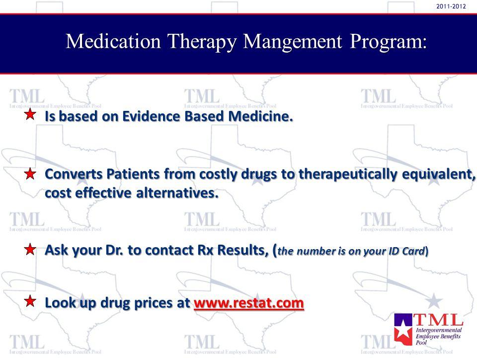 Is based on Evidence Based Medicine.