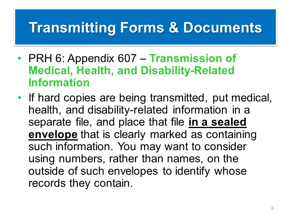 7 FILE A Regional Office File Review Process Form FILE B Center Recommendation of Denial Form If transmitting the file, which file shows what we would NOT do?