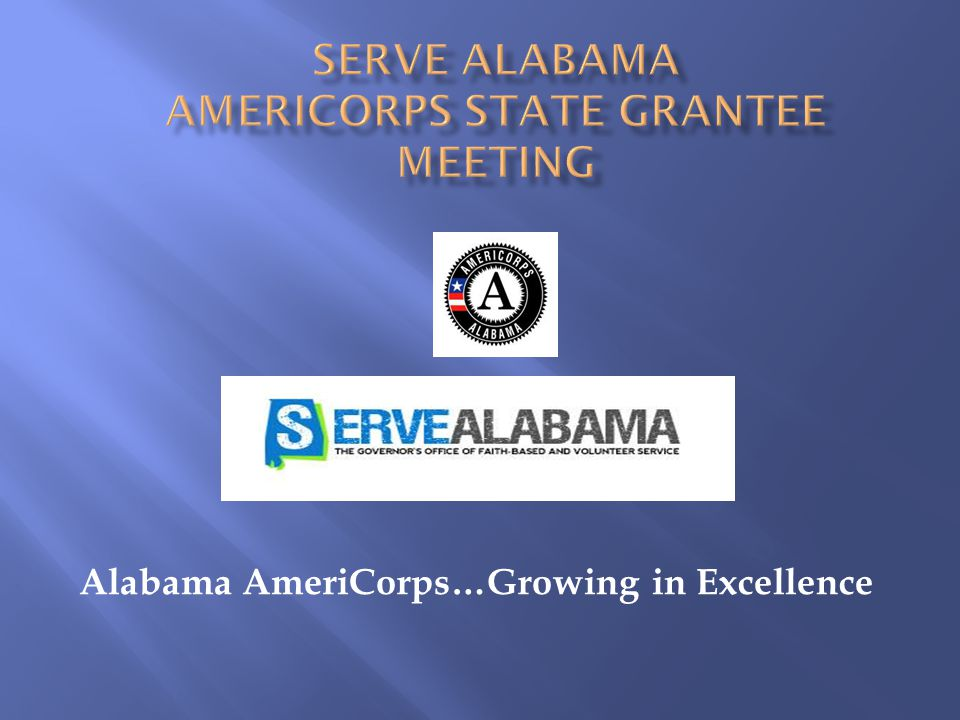 Alabama AmeriCorps…Growing in Excellence