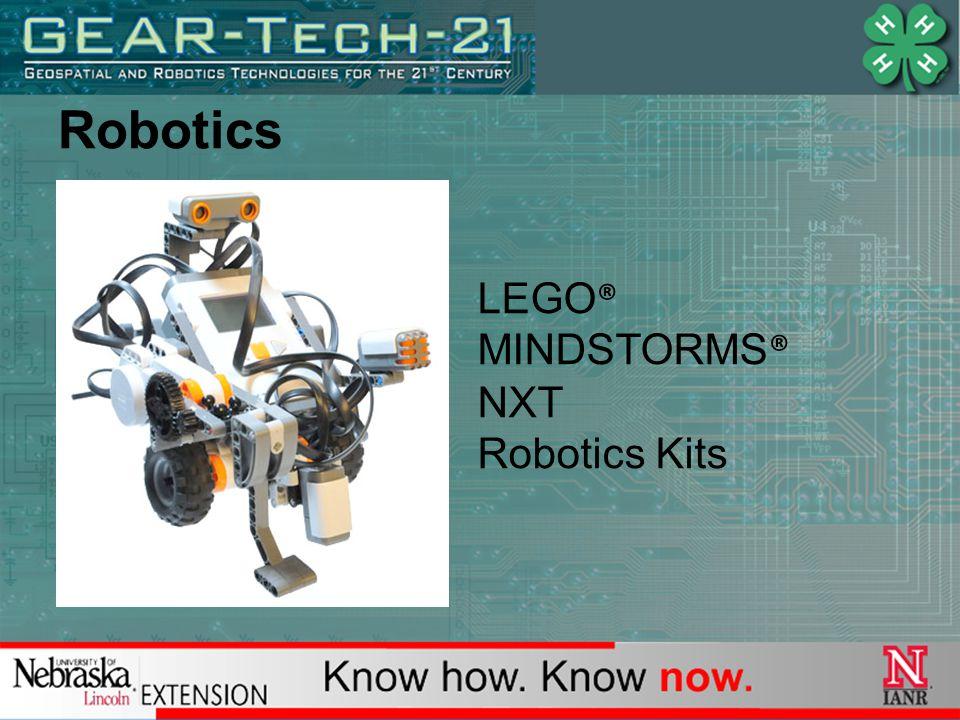 Robotics LEGO ® MINDSTORMS ® NXT Robotics Kits