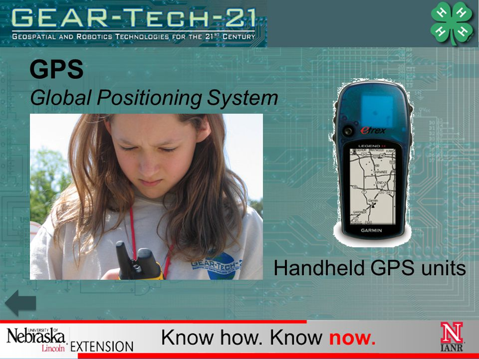 GPS Global Positioning System Handheld GPS units