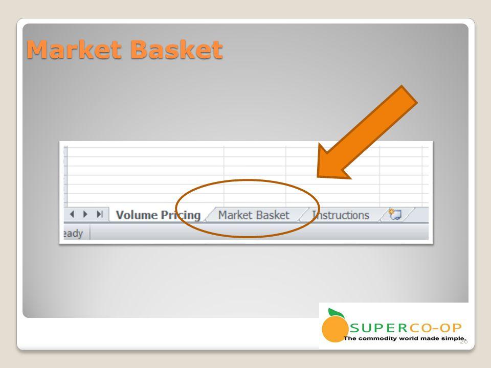 Market Basket 26