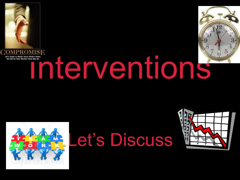 Interventions Let's Discuss